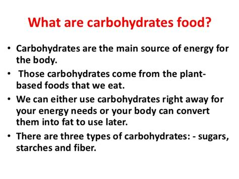 carbohydrates meaning carbohydrate