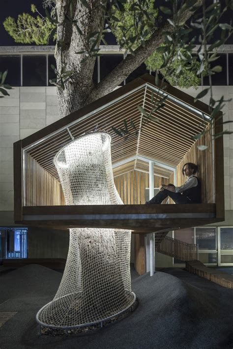 modern tree house design animating public space modern tree house jerusalem decor advisor