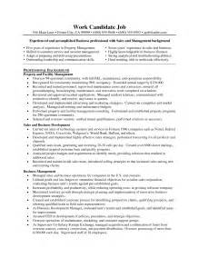 restaurant manager resume sle construction site supervisor resume sle free resume