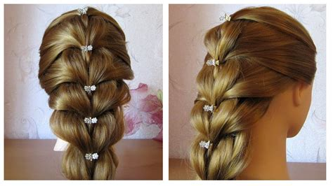 Coiffure Simple by Tuto Coiffure Simple Cheveux Mi Tresse Facile