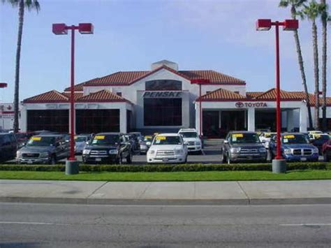 Penske Toyota In Downey Penske Toyota Of Downey Car Dealership In Downey Ca 90241