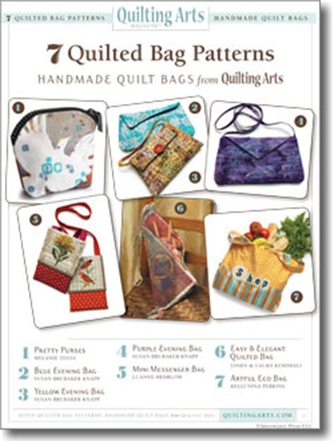 Quilting Daily by 7 Free Quilted Bag Patterns To Make Your Own Handmade Bags