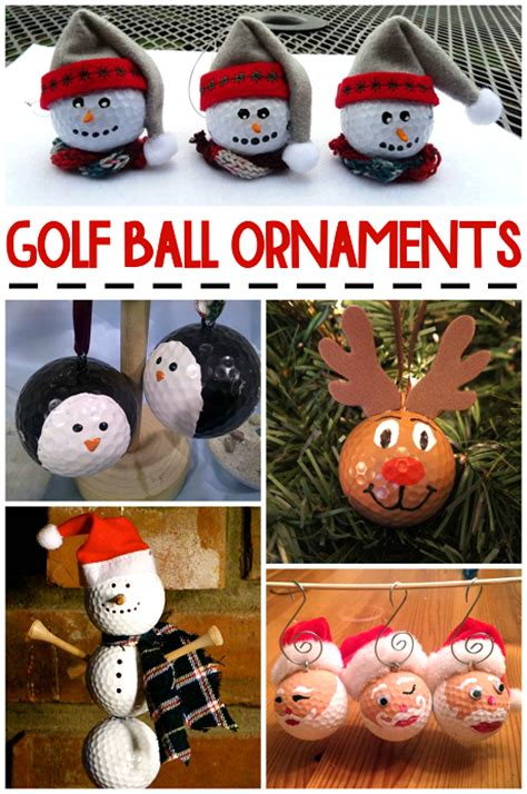 Holiday Bazaar Craft Ideas - christmas golf ball ornament ideas crafty morning
