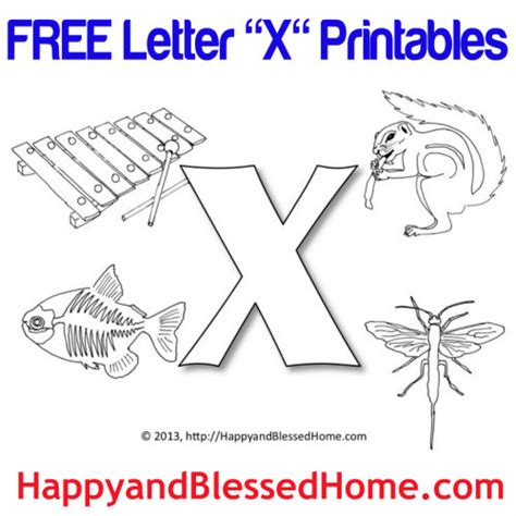 Business Terms Letter X Preschool Alphabet X Is For Xylophone Happy And Blessed Home
