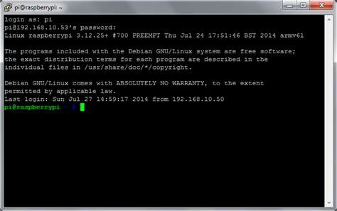 for ssh ssh using windows raspberry pi documentation