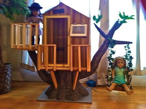 american girl doll tree house ooak swing for american girl treehouse american girl