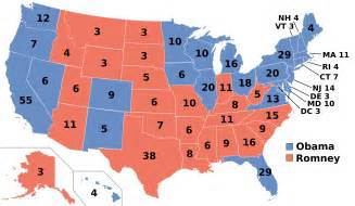 us map showing electoral votes electoral college coalitions in 2016 is a shift ahead