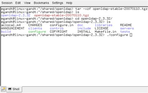 linux howto ldap setting up openldap 2 3 x