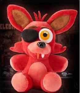 At freddy s fan made foxy plushie 10 quot plush toy christma gift ebay