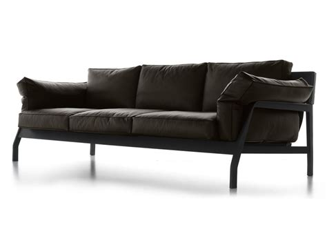 cassina couch buy the cassina 285 eloro three seater sofa leather at