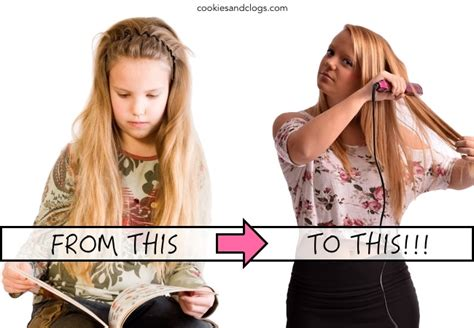 young girls puberty adolescence puberty change from child to teenager