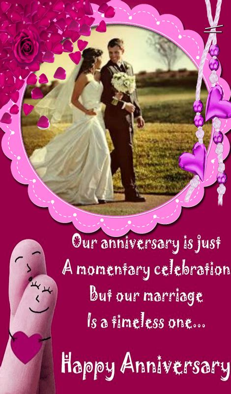 Wedding Anniversary Card Editing by Happy Anniversary Photo Frames Editing