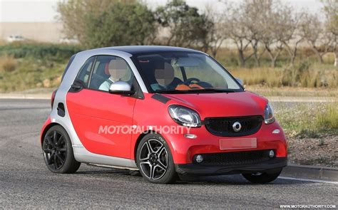 smart car 2016 2016 smart fortwo brabus spy shots