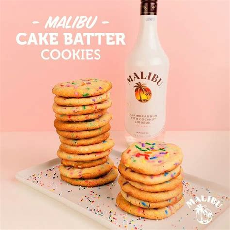 1 cup cake mix 1 package white cake mix 188 cup malibu rum 2 eggs 188 cup