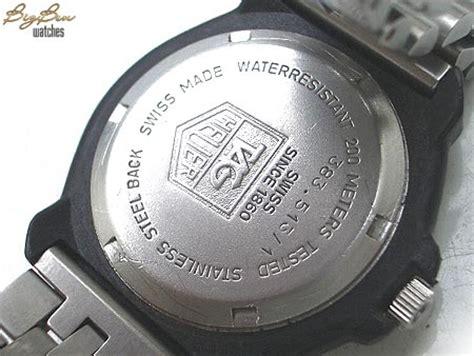 u boat watch serial number tag heuer formula 1 f1 professional quartz date watch by