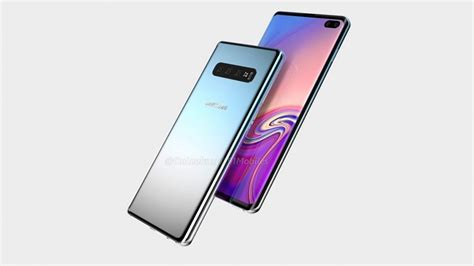 4 Samsung Galaxy S10 Plus by Samsung Galaxy S10 Plus Renders Show Infinity O Display