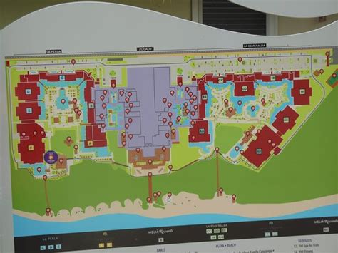 hotel del layout hotel layout map picture of paradisus playa del carmen