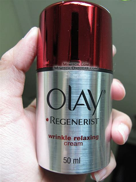 Olay Regenerist Wrinkle Relaxing miwitch review olay regenerist wrinkle relaxing