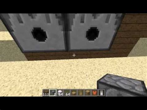 How To Build A Closet In Minecraft by How To Make A Fridge And Closet In Minecraft 1 2 5