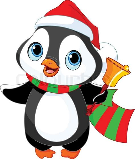 images of christmas penguins cute christmas bells clipart free clipground