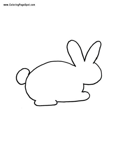 templates bunnies and easter crafts on pinterest