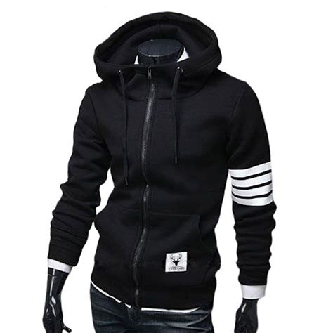 design hoodie sleeves men s hoodies sweatshirt casual male hooded jacket long