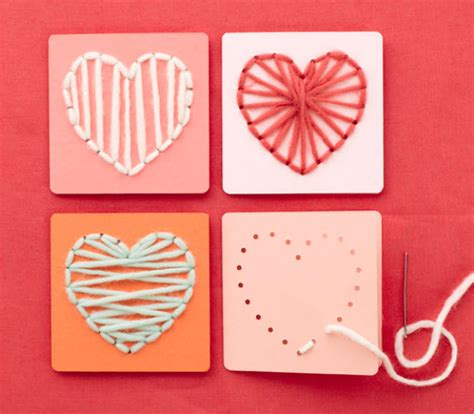 kid craft card string template