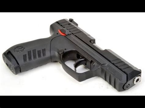 ruger sr22 22lr handgun for self defense concealed carry