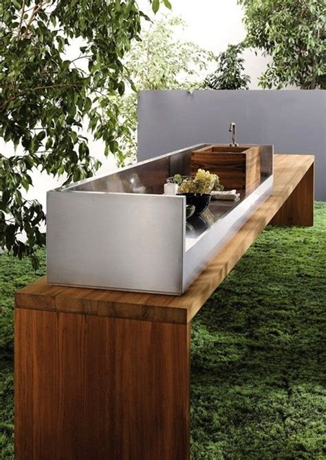 modern outdoor kitchens beyond the barbecue 15 modern outdoor kitchens by