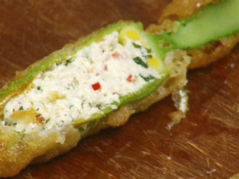 Supermarket Sweepstakes Tv Show - crispy zucchini flowers stuffed with ricotta and mint recipe jamie oliver food network