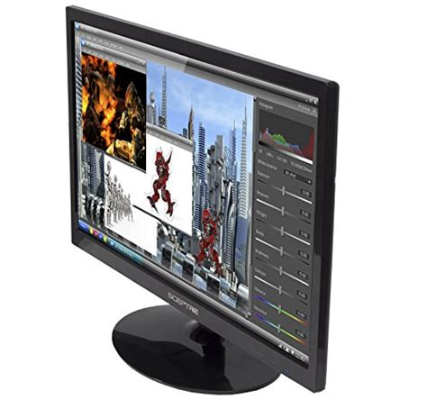 Monitor Led 22 Inch sceptre 22 inch screen led lit monitor beatz gamers