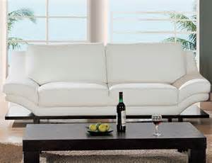 sofa leder weiss white leather sofa home improvement