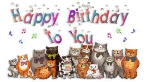 Birthdays Simon S Cat Guide To cats sing happy birthday funnycat tv