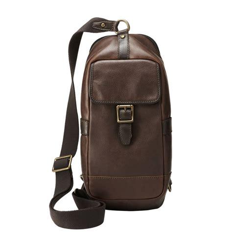 Tas Fossil Sling Bag Set 2 In 1 Black Series Jj 1029 fossil estate sling pack mbg9113 fossil 174
