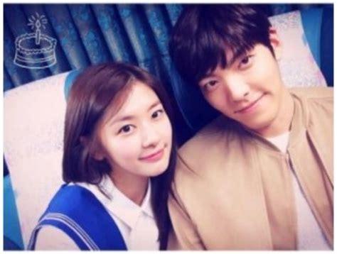 film drama korea terbaru kim woo bin jung so min pamer fotonya bersama kim woo bin kembang pete
