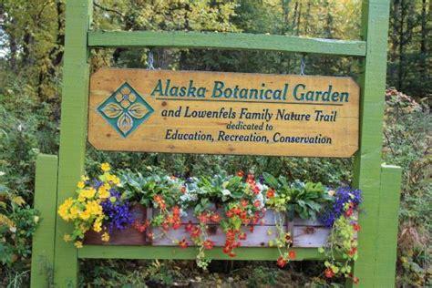 Alaska Botanical Garden A Bit Of Whimsy Picture Of Alaska Botanical Garden Anchorage Tripadvisor