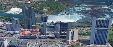 niagara falls canada hotels map niagara falls hotels niagara falls fallsview hotels