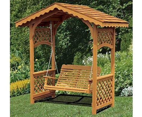 arbor swing frame easy building shed and garage arbor swings design arbor