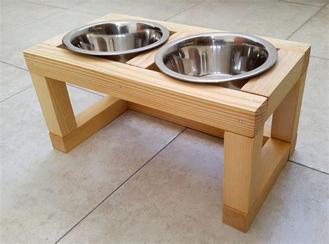 Wooden Raised Feeders wood raised pet feeder feeding station cat feeder by