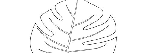 Jungle Leaf Templates To Cut Out by Jungle Leaf Template Large