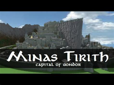 Wall Blueprints Minas Tirith Capital Of Gondor Minecraft Project