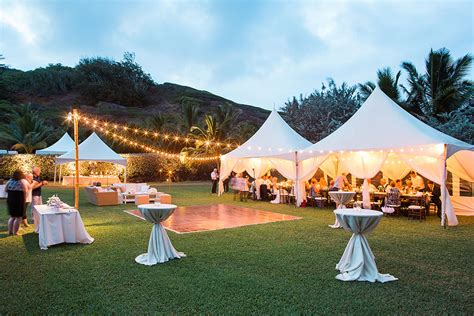 lees rentals kauai  kauai tent rental  party supply company