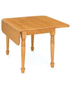 Dining Room Table Leaf drop leaf leg table amish direct furniture