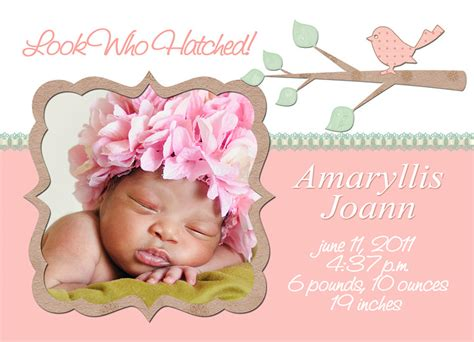 free baby announcements templates mick luvin photography sweet baby free birth