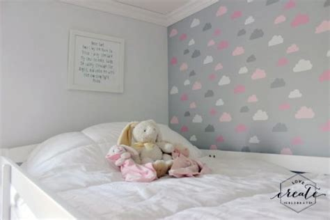 girls bedroom stencils on cloud nine with a stenciled girl s bedroom stencil stories stencil stories