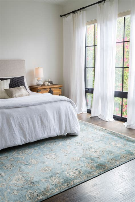 bedroom rug currently craving statement rugs for every space lauren