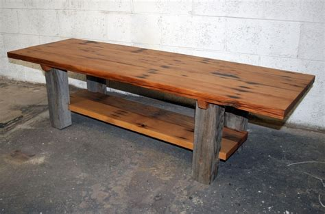 Wood Dining Room Sets reclaimed barn wood coffee sofa table the best wood