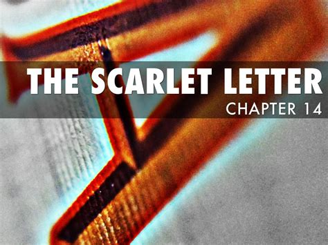 themes in chapter 2 of the scarlet letter the scarlet letter chapter 14 by dylan cbell