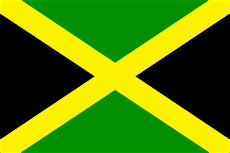jamaica flag color city routes the jamaican flag