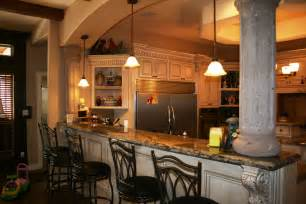 kitchen bar design new construction